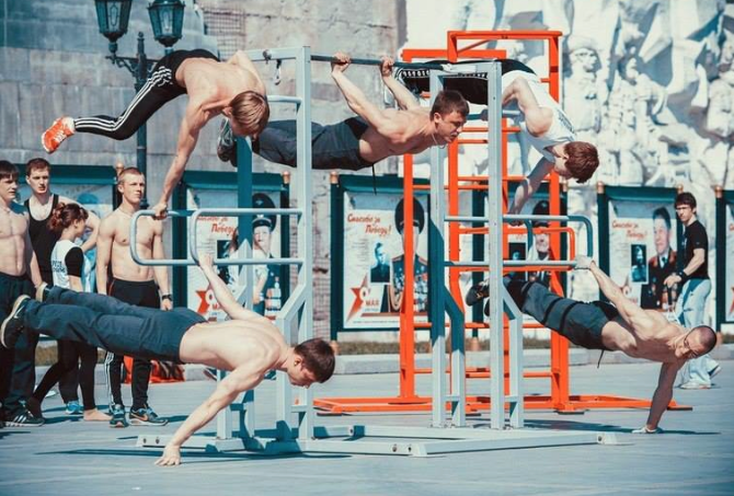 example of Calisthenics