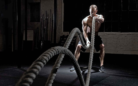 example of crossfit rope work